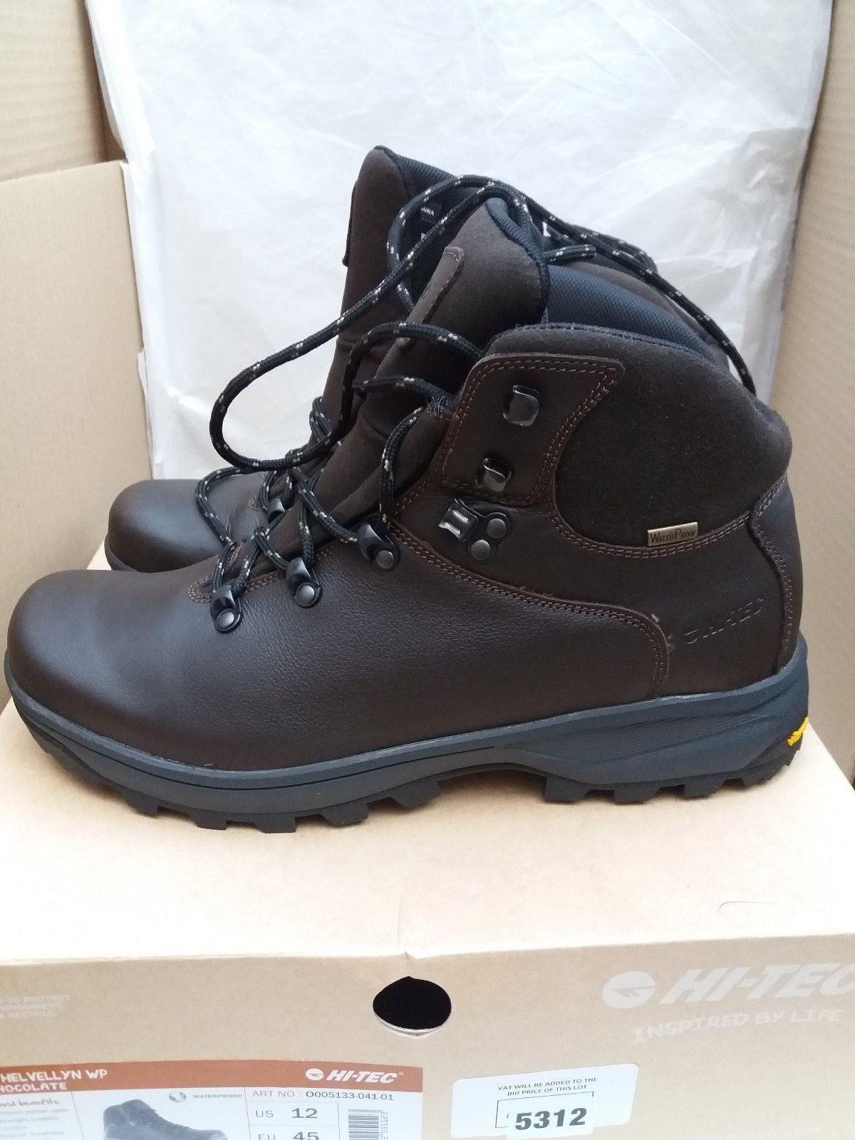 Hi-Tec  Waterproof Uomo V-Lite Helvellyn Waterproof  Leder Walking/Hiking Stiefel c4430e