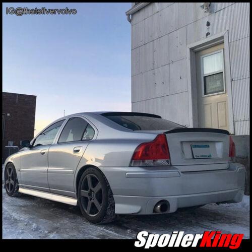 SpoilerKing 284R//284G Rear Window Spoiler /& Trunk Wing Fits Volvo S60 S60R 01-09