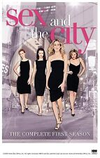 Brand New DVD Sex and the City: The Complete First Season Kim Cattrall Kristin