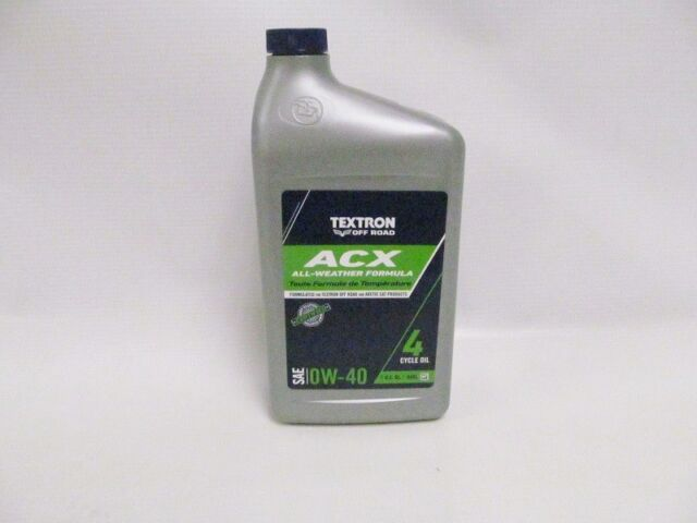 Textron Acx 0w-40 Huile Synthétique One Quart Superior Rust Protection 2436-690