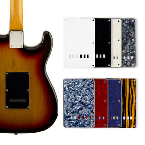 Guitare-electrique-couverture-arriere-plaque-tremolo-Pickguard-cavite-pour-Fender-Strat-parts