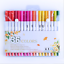 60 Colors Dual Tips Watercolor Drawing Pens Fine Tip Brush Paint Art Markers Set