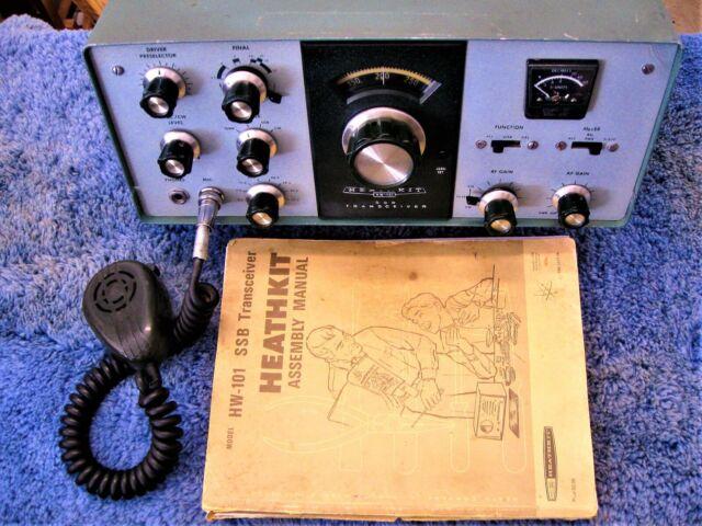Heathkit Hw 12 75m 75 Meter Ssb Monobander Ham Radio Transceiver Tube Works Nr For Sale Online Ebay