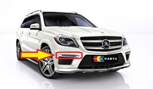NEW Genuine Mercedes MB GL W166 AMG Pare-chocs Avant DRL Lumière Capot Chrome Droit