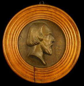 DernièRe Collection De Médaillon Historien Académicien Comte Alfred Pierre De Falloux Du Coudray Angers