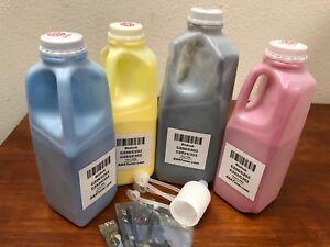 4-Toner-Refill-for-Konica-Minolta-Bizhub-C200-C203-C253-C353-4-Chip-TN214
