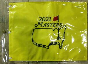 1 - 2021 AUGUSTA MASTERS Official EMBROIDERED Golf Pin FLAG