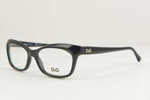 60c77b836013 Dolce Gabbana DG 1232 501 Black women s eyeglasses frame 55-16 140 ...