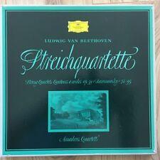 138 534/36 Beethoven String Quartets / Amadeus Quartet TULIP 3 LP box set