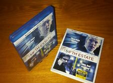THE FIFTH ESTATE Blu-ray US import region a free abc(rare OOP slipcover slipcase