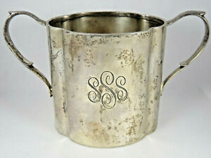 Georg Jensen Sterling Silver Double-Handle Cup