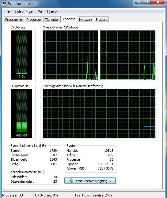Selvbyg, 2,93 Ghz, 2 GB ram