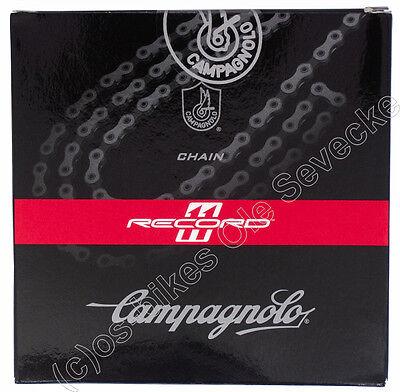 Campagnolo Record 11-fach Kette, 114 Glieder Länge, CN11-RE1