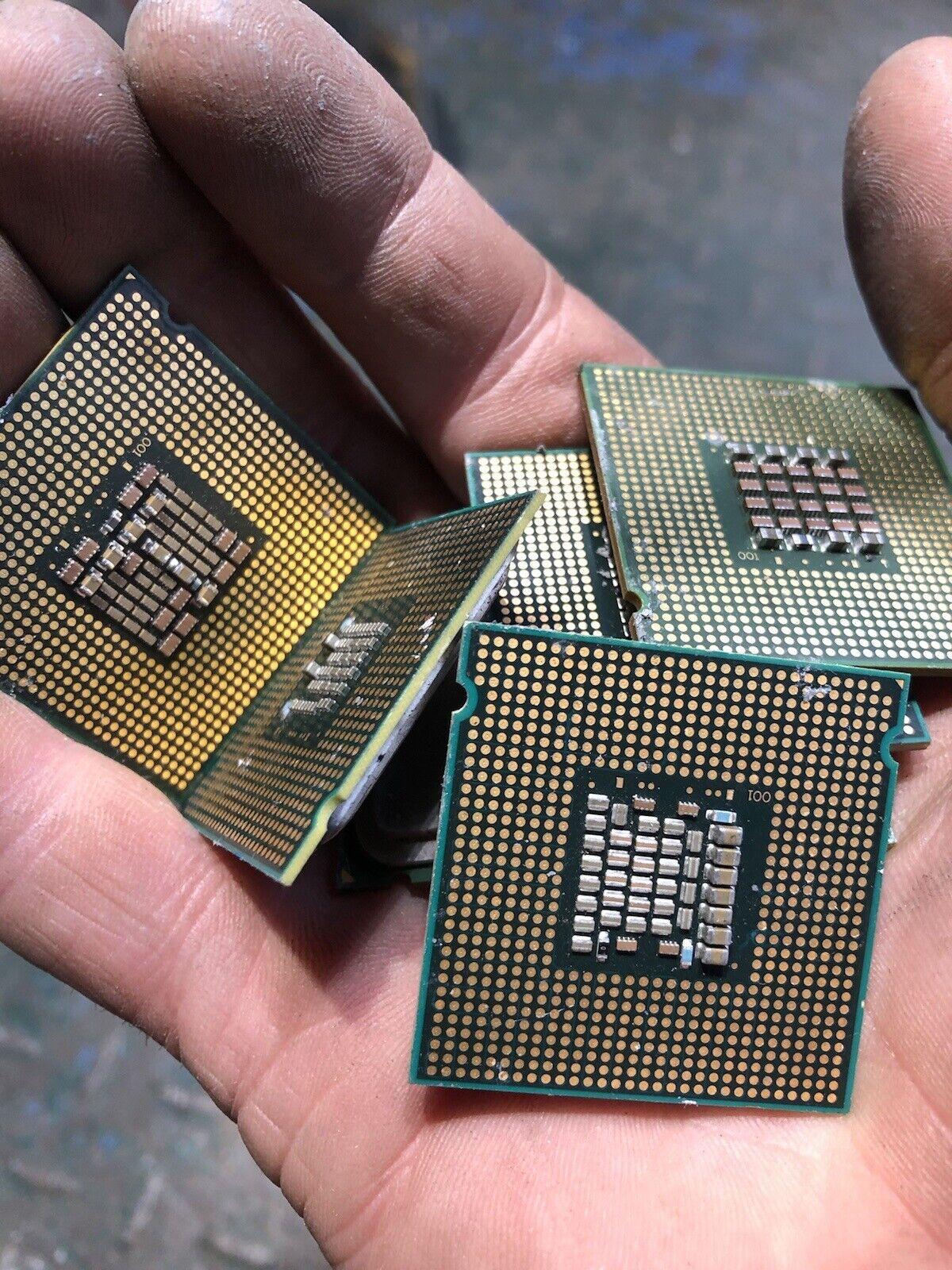 1 Kilo CPUs Computer Scrap Scrap Gold/copper/platinum Recovery Refining Uk