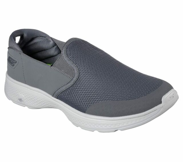 Details about Mens Skechers GO WALK 4 CONTAIN 54171 Slip On Casual Comfort Shoes Sneakers