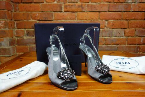 Evening Boîte et Slingbacks 345 Prada sacs 'raso Coût Silk Jewels' d'origine 00 £ qwwzPt