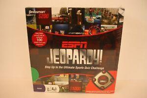 Espn Jeopardy Ultimate Sports Quiz Challenge New Sealed Sports Trivia Board Game Ebay