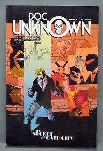 Doc-Unknown-Volume-1-The-Secret-at-Gate-City-Comic-Signed-Fabian-Rangel-Jr-2013