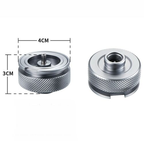 Alloy Stove Gas Tank Adapter Split Type Cooker Outdoor Camping Burner Connector