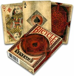 Bicycle-vintage-Classic-poker-playing-cards-juego-de-naipes-Fantasy-Art