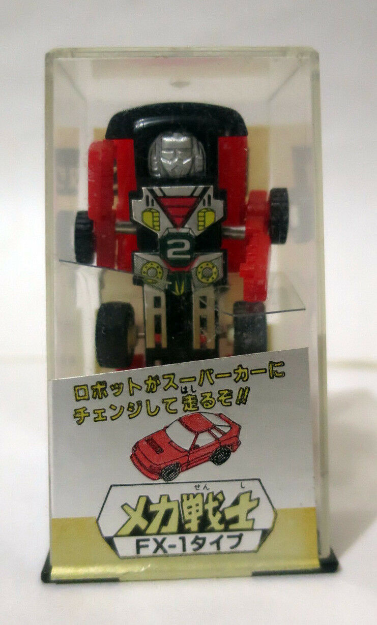 Takara Diaclone Transformers Mecha Warriors Mini Spy Car FX-1 Japan 1970s MIB
