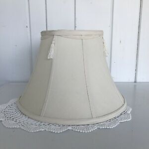 Image Is Loading Cream Bell Shaped Lampshade 15 X 8 1