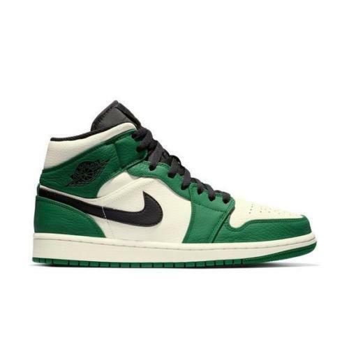 separation shoes 80e73 f9963 Nike Air Jordan 1 Mid Retro Special Edition Edition Edition size 8. Pine  Green White