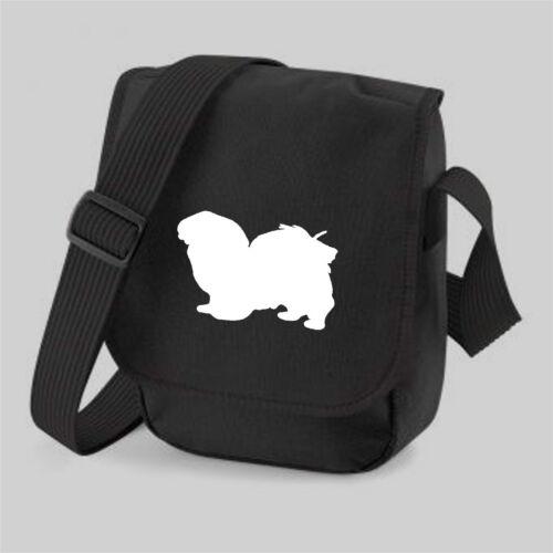 Tibetan Spaniel Dog Bag Silhouette Shoulder Bags Handbags Birthday Gift