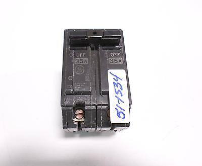 GE 60 AMP 2 POLE RT-660 CIRCUIT BREAKER HACR E-11592 THQB