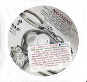 Janet-Jackson-MINT-1trk-PROMO-CD-Nothing
