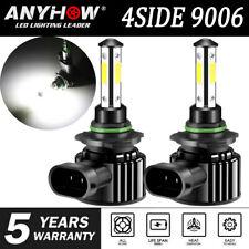 4 Sides 9012 Led Headlight Bulbs Kit Hi Low Beam 6000k Super Bright Power 2019