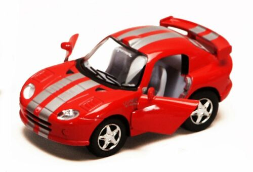 DODGE VIPER GTS-R DIECAST CAR BOX OF 12 4 INCH SCALE DIECAST MODEL CARS ASSORTED