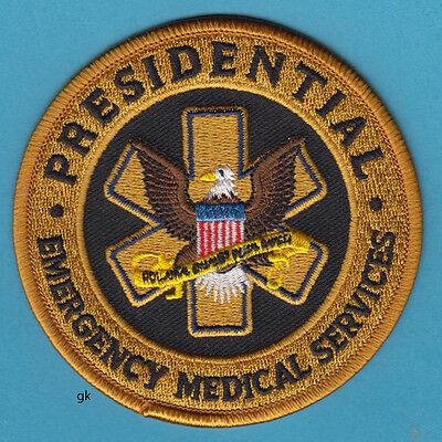 PRESIDENTIAL EMERGENCY MEDICAL SERVICES SHOULDER PATCH  EMS  EMT