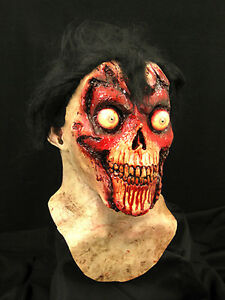 Face Off Halloween Horror Latex Mask Prop, NEW