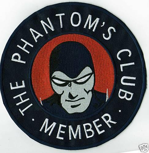 THE PHANTOM,S CLUB MEMBER IRONON  PATCH BUY 2GET 1 FREE