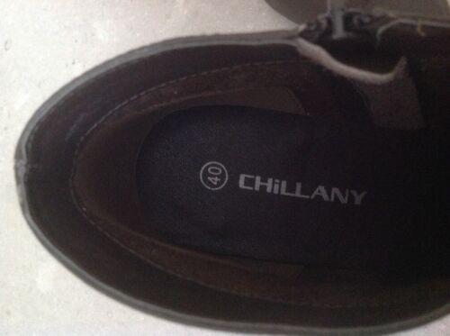 40 alla Eu Chillany pelle marrone in Stiletto caviglia Bnib Donna 5 Scarpe Taglia 6 H1wqSCC