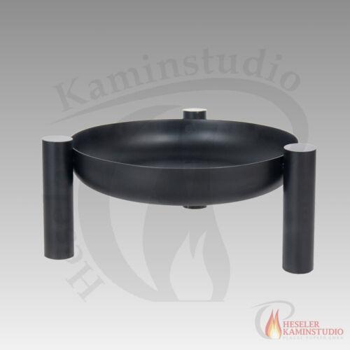 Feuerschale farmcook PAN 38 schwarz Ø 60 cm ohne Deckel Feuerkorb Klöppelboden