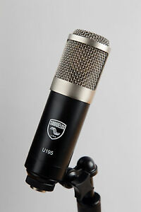 Soundelux-USA-U195-Cardioid-FET-Condenser-microphone-Made-in-USA-based-on-U87