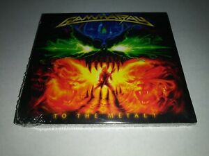 GAMMA-RAY-To-the-Metal-CD-DVD-DIGIPAK-SEALED-NEW-2010-Ear-USA-cut-out-mark