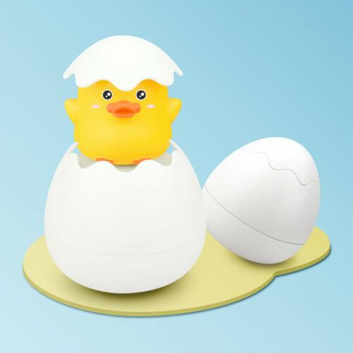 Baby Shower Bath Bathtub Sprinkling Egg Floating Duck Penguin Spraying Water Toy