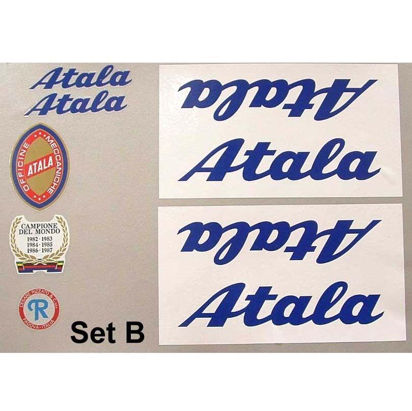 Atala decals set B for vintage restoration