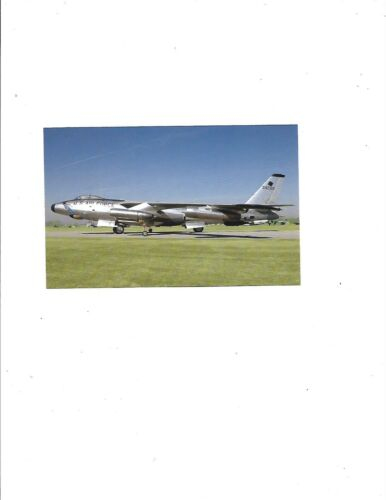 """Boeing RB-47H /""""STRATOJET/""""..WPAFB..new..card #007 USAF MUSEUM"""