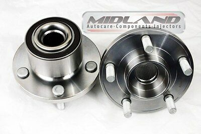 FORD MONDEO MK4 2007-2013 PAIR OF FRONT WHEEL BEARING HUB FLANGE ABS *BRAND NEW*
