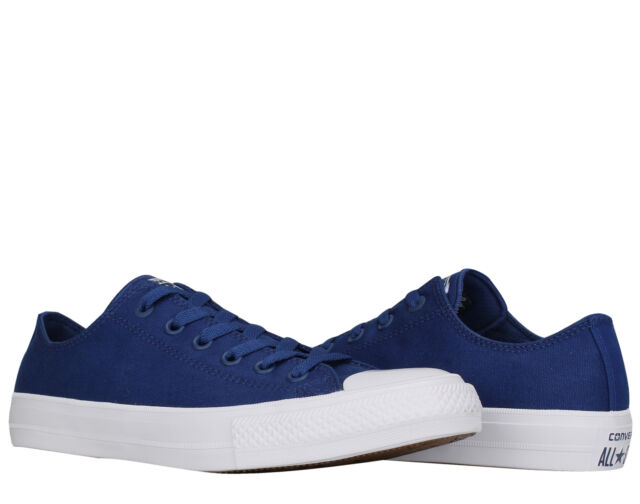 980c2a644 Converse Chuck Taylor All Star II Low Top Sodalite Blue Men's Shoes 150152C