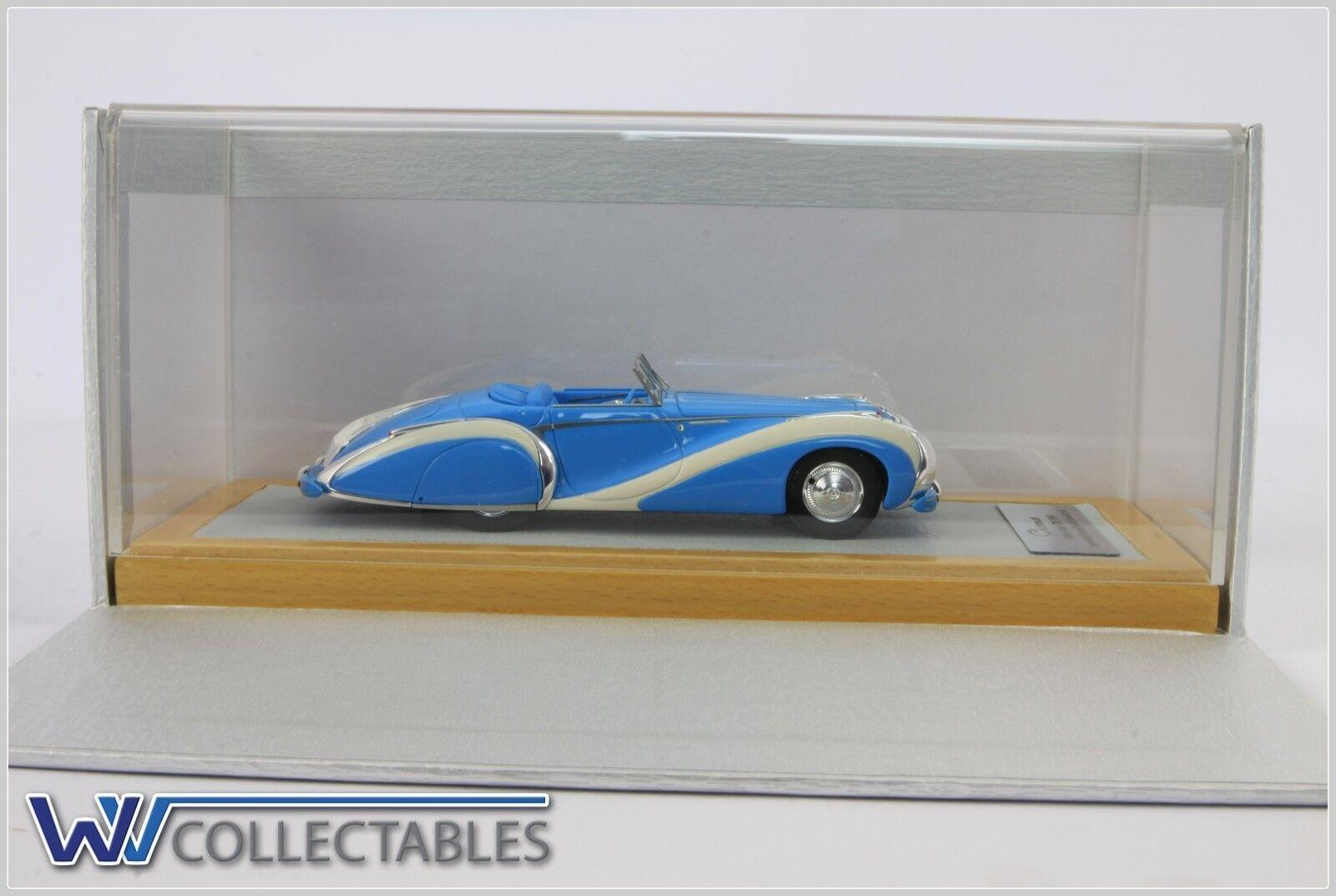 Talbot-Lago t26 1948 converdeible grand sport 1 100 pieces ilario Chromes 1 43 cromático 063
