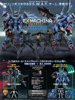 Hot Toys Appleseed Saga Ex Machina Snap Kits Bonus Landmate Rare Figure Misb Ebay