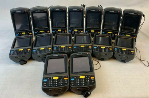 Lot of 15 Symbol Motorola MC7090 Barcode Scanners UNTESTED AS-IS EB-3099