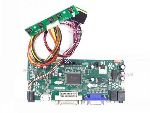 "For B156XW02 V2 1366X768 15.6/"" HDMI VGA DVI LCD LED  Board Controller kit Screen"