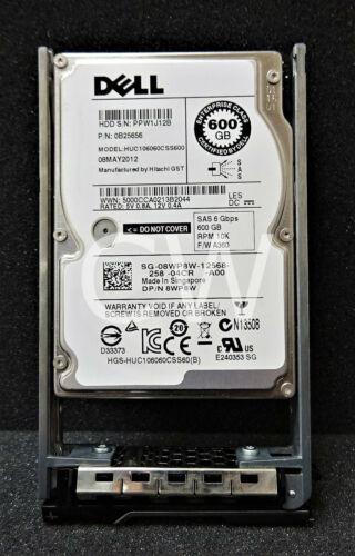 Dell 8WP8W 08WP8W 600GB 10000RPM 6Gb//s 2.5in SAS Hard Drive HUC106060CSS600