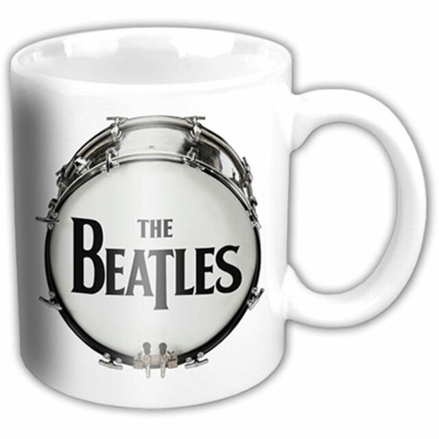 The Beatles - Boxes - Keramik Tasse Mug Becher - Ø8,5 H9,5 cm